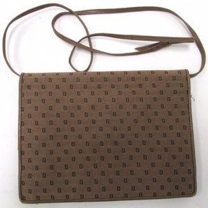 Fendi Bags - Authentic Fendi Light Brown Canvas Shoulder Bag